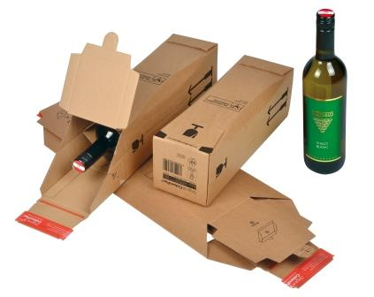 Colompac Single Bottle Postal Pack