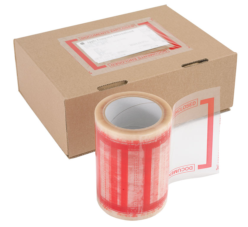 Document Pouch Tape & Dispenser
