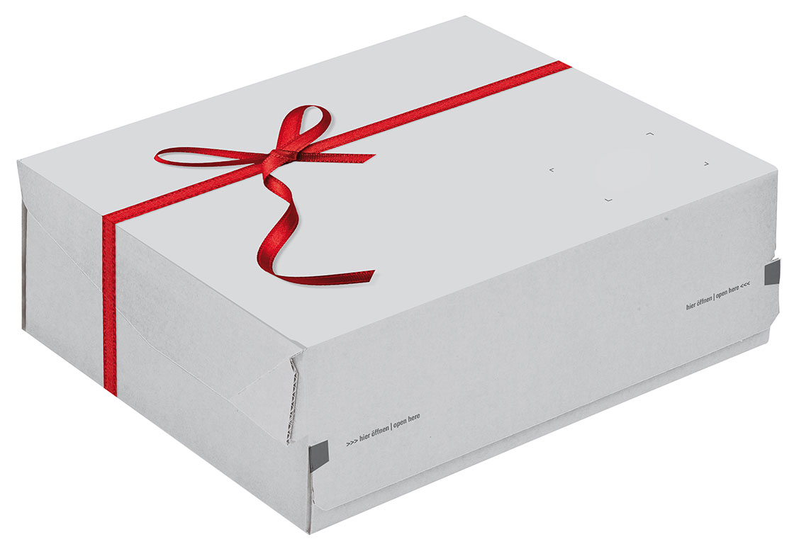 Colompac Red Bow Printed Boxes