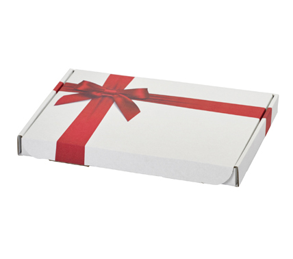 Red Bow Gift Box
