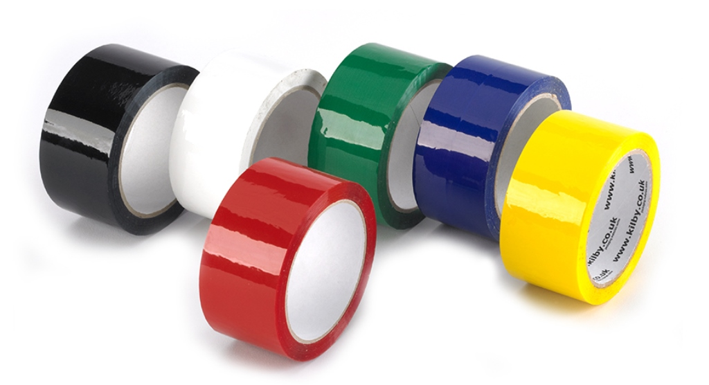 Coloured Vinyl Packaging Tapes