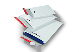 Colompac White Solid Board Envelopes