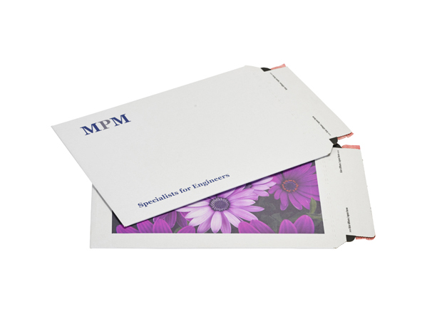 Printed Colompac Corrugated Envelopes